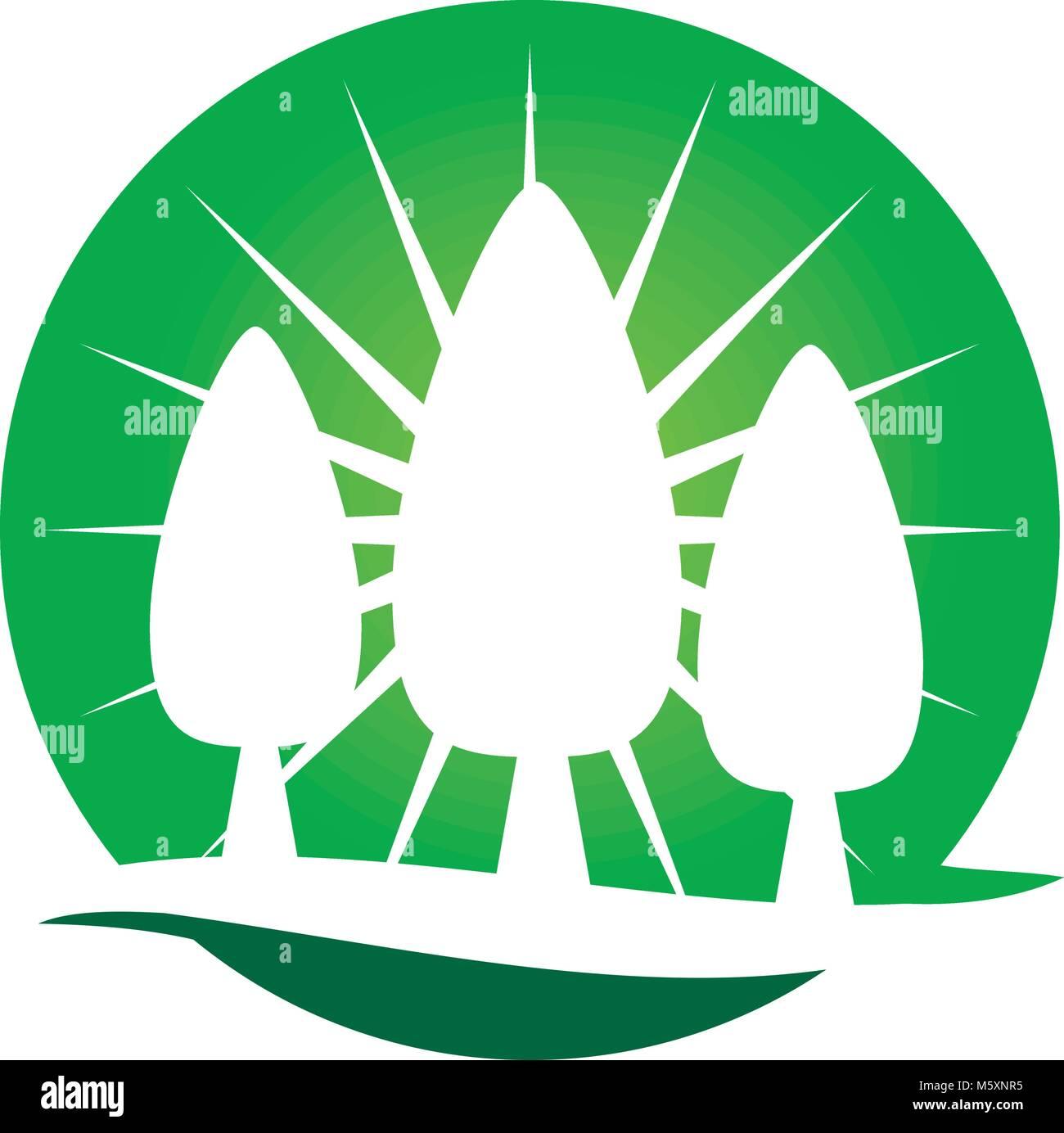 El paisajismo de cuidado diseño de logotipo Vector Plantilla ...