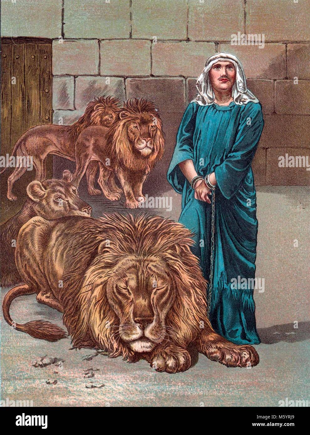 Daniel In The Lions Den Imágenes De Stock & Daniel In The Lions Den ...