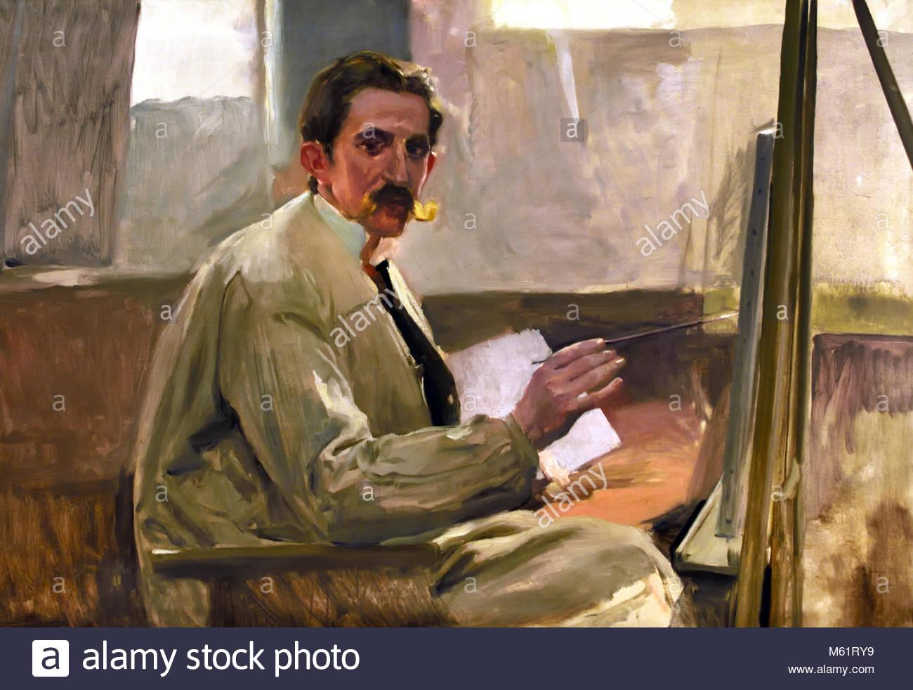 Mi amigo, mi amigo Portillo Portillo 1922 Joaquín Sorolla y Bastida (1863 -1923) Valencia Madrid 19/20ª Imagen De Stock