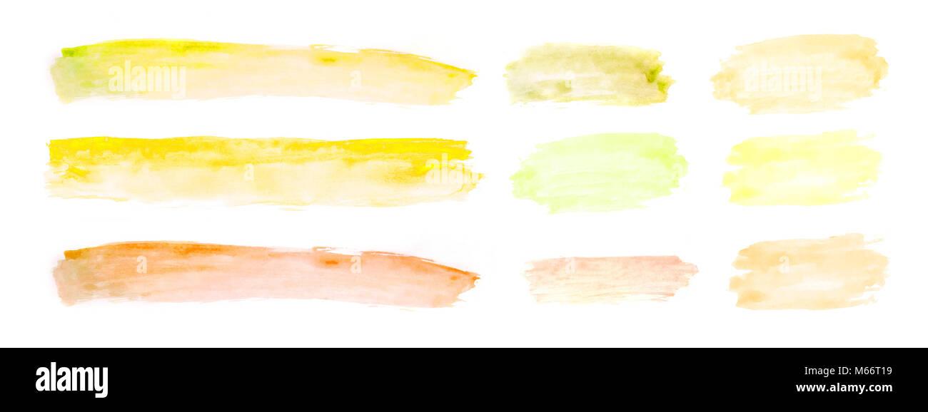 Watercolor Lipstick Imágenes De Stock & Watercolor Lipstick Fotos De ...