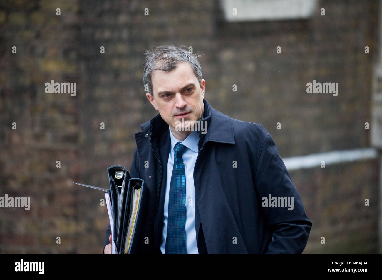 El Honorable Julian Smith MP, Secretario Parlamentario del Tesoro, también conocido como el jefe de la bancada, Imagen De Stock