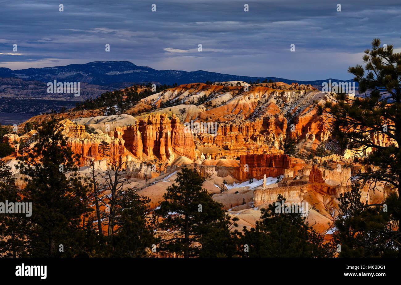 Bryce Canyon, Utah, Estados Unidos de América Imagen De Stock