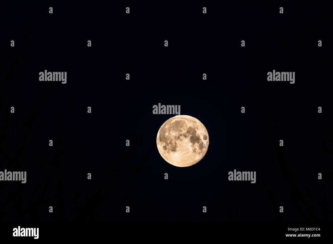 Luna llena Imagen De Stock