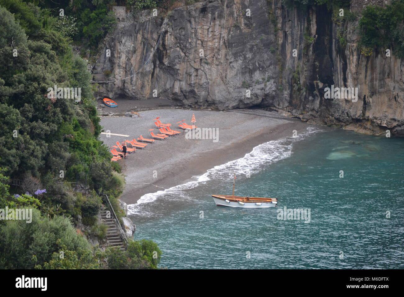 Costa Amalfitana Foto de stock