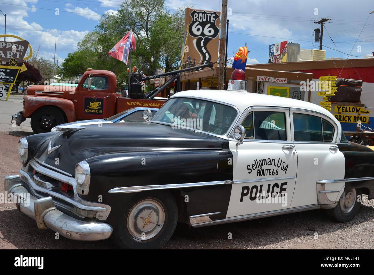 Ruta 66 Foto de stock