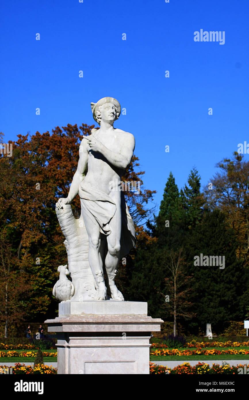 Munich Alemania Jardines Del Palacio Nymphemburg Mitológico
