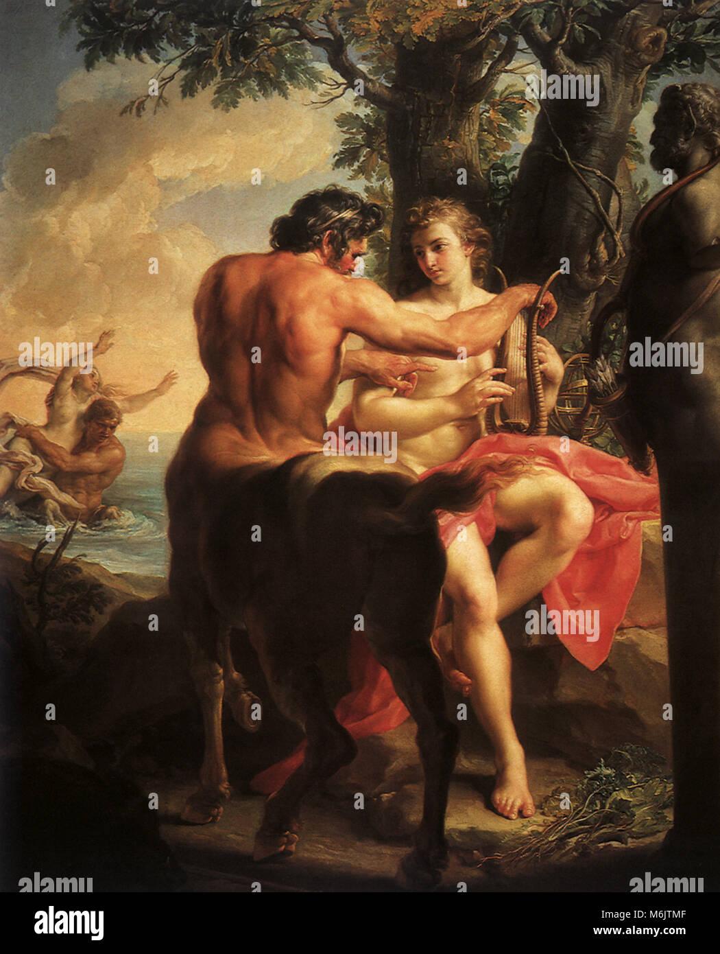Aquiles y el centauro Quirón d7a8e24235baf