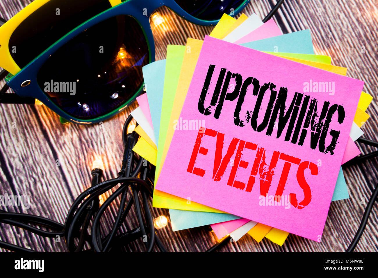Upcoming Events Imágenes De Stock & Upcoming Events Fotos De Stock ...
