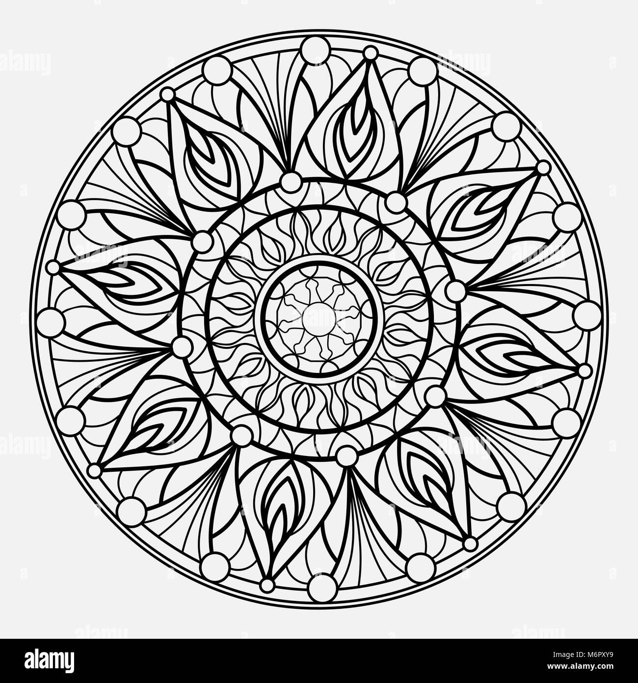 Weave Mandala Imágenes De Stock & Weave Mandala Fotos De Stock - Alamy