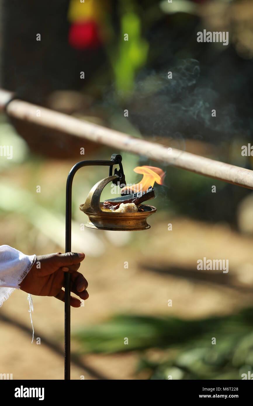 Festivales de Kerala, thrissur pooram Imagen De Stock