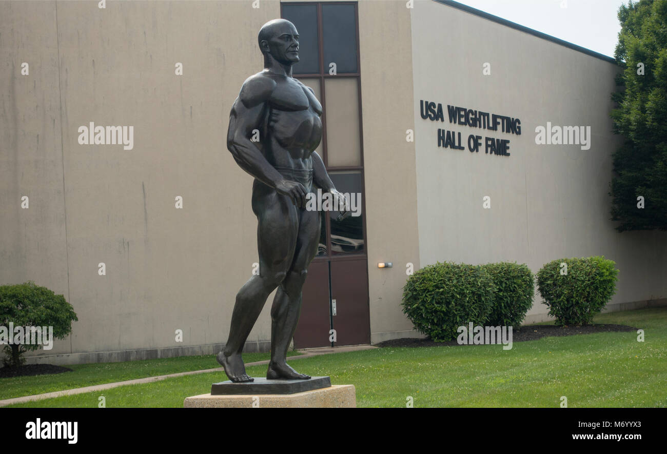 York Barbell halterofilia Hall of fame en York PA Imagen De Stock