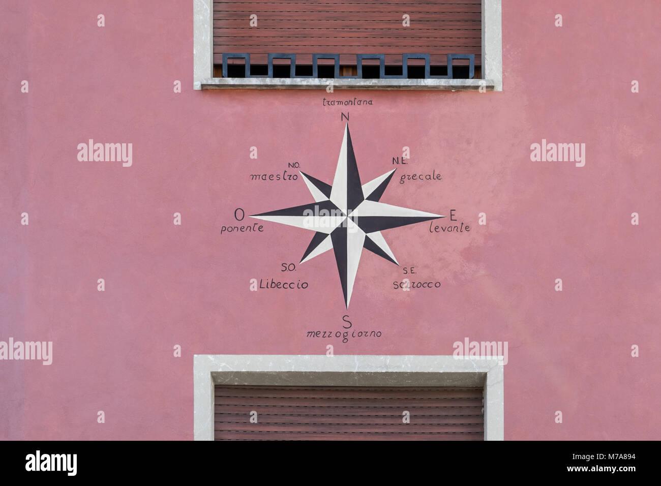 Rosa Del Viento Fotos E Imágenes De Stock Alamy
