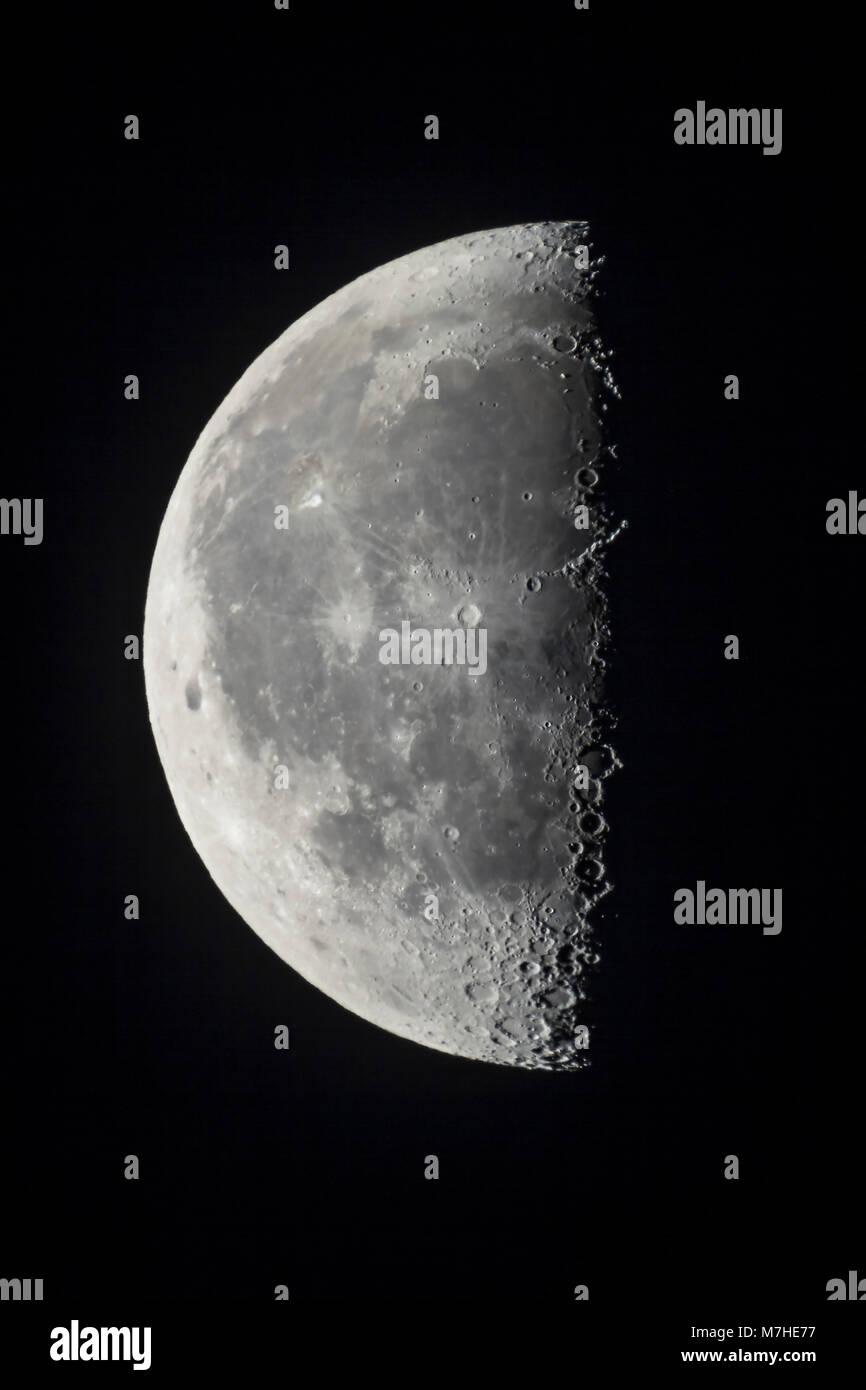 Los 21 días de edad último cuarto menguante de la luna Foto & Imagen ...