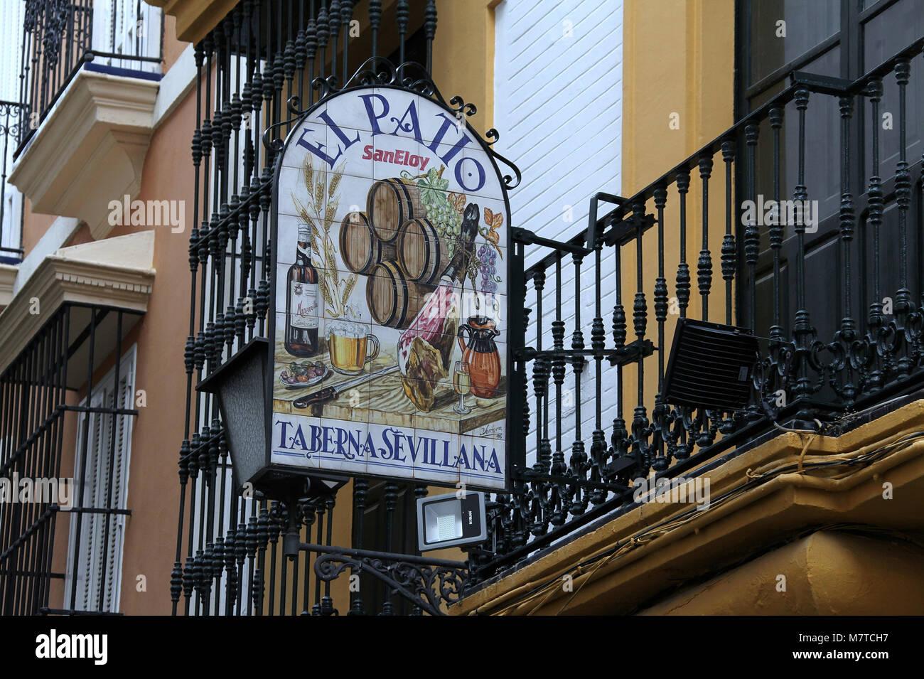 Patio San Eloy En Sevilla Foto Imagen De Stock 176943011 Alamy