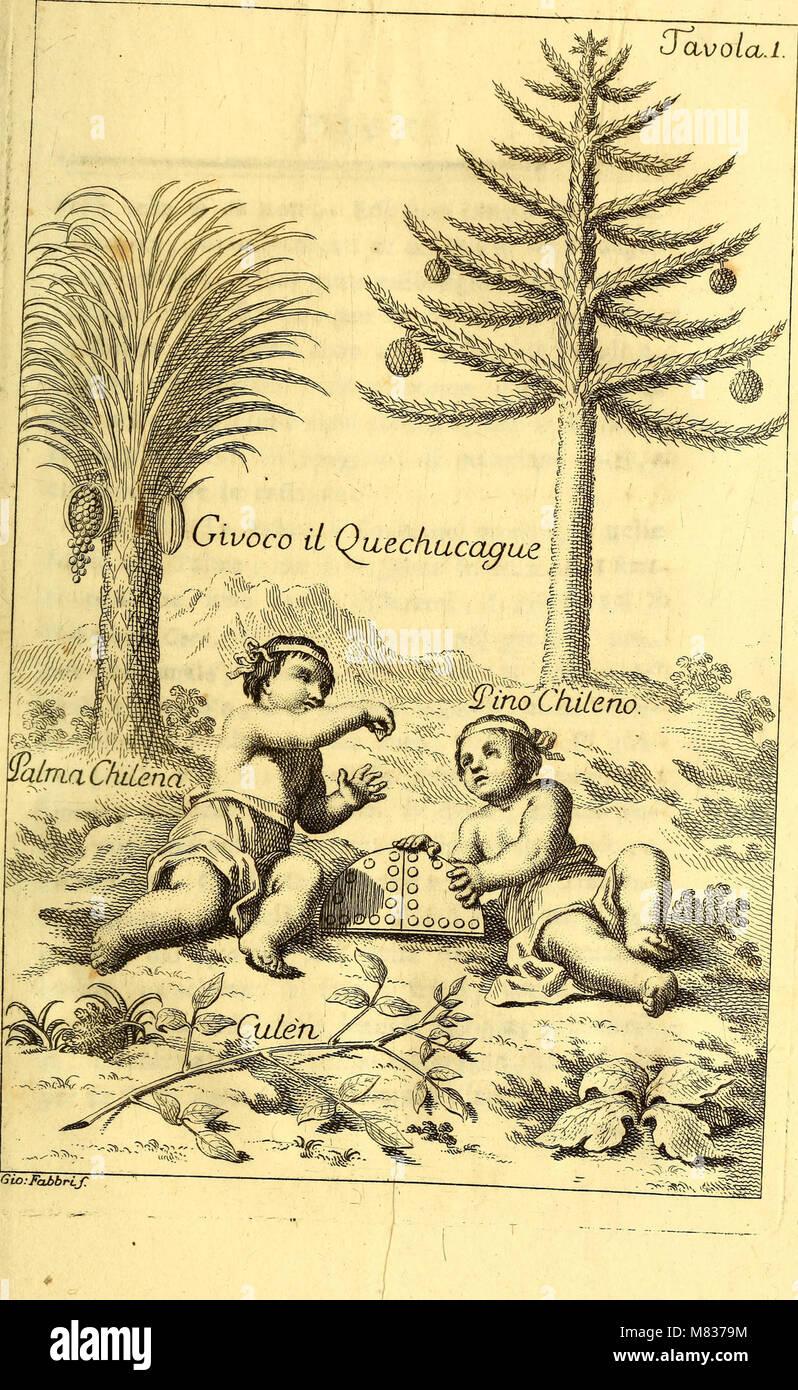 Compendio della storia geografica, naturale e civile del regno del Chile (1776) (20484260719) Foto de stock