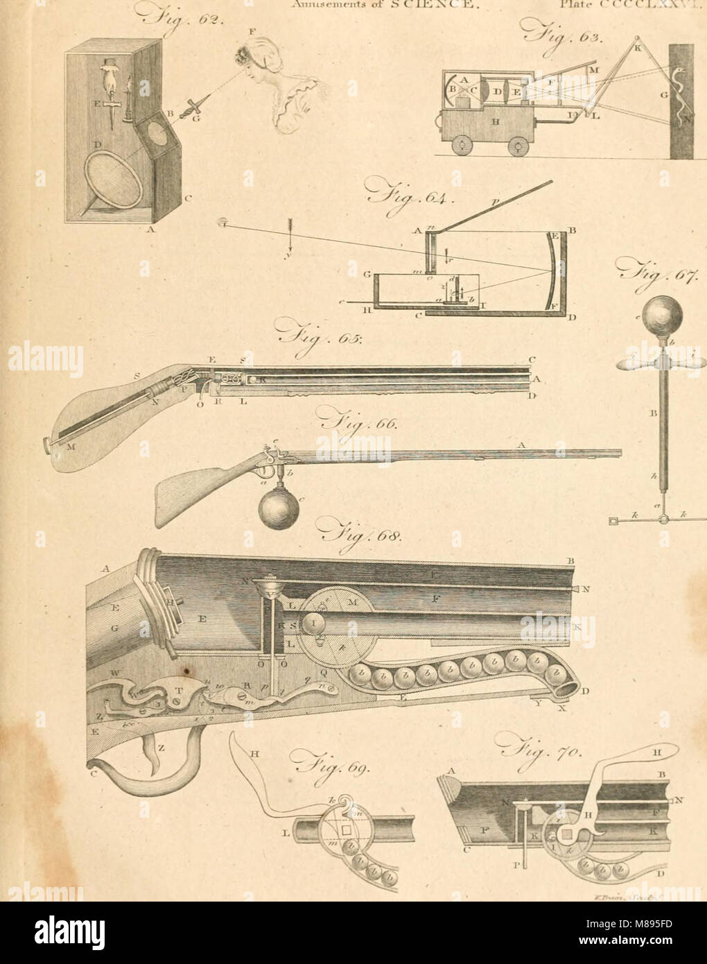 Britannica; o un diccionario de las artes, las ciencias y la literatura miscelánea (1810) (14580561030) Foto de stock
