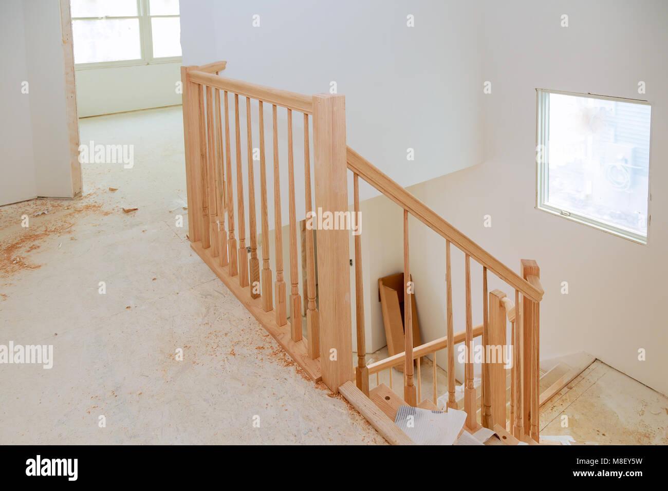 Resumen de hermosos barandales y escaleras enmoquetadas for Escalera de madera 5 pasos