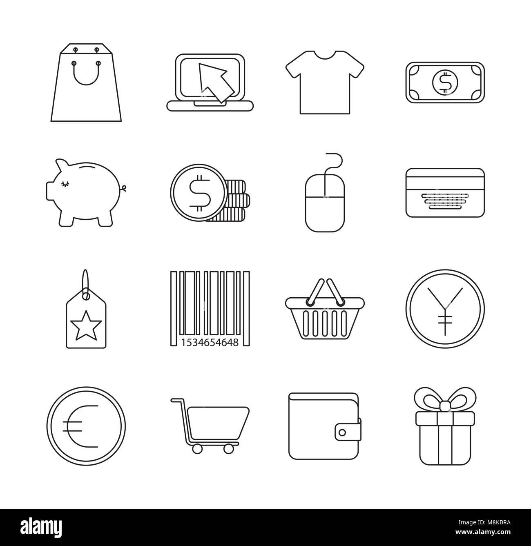 Infografía plantillas de iconos Ilustración del Vector, Imagen ...