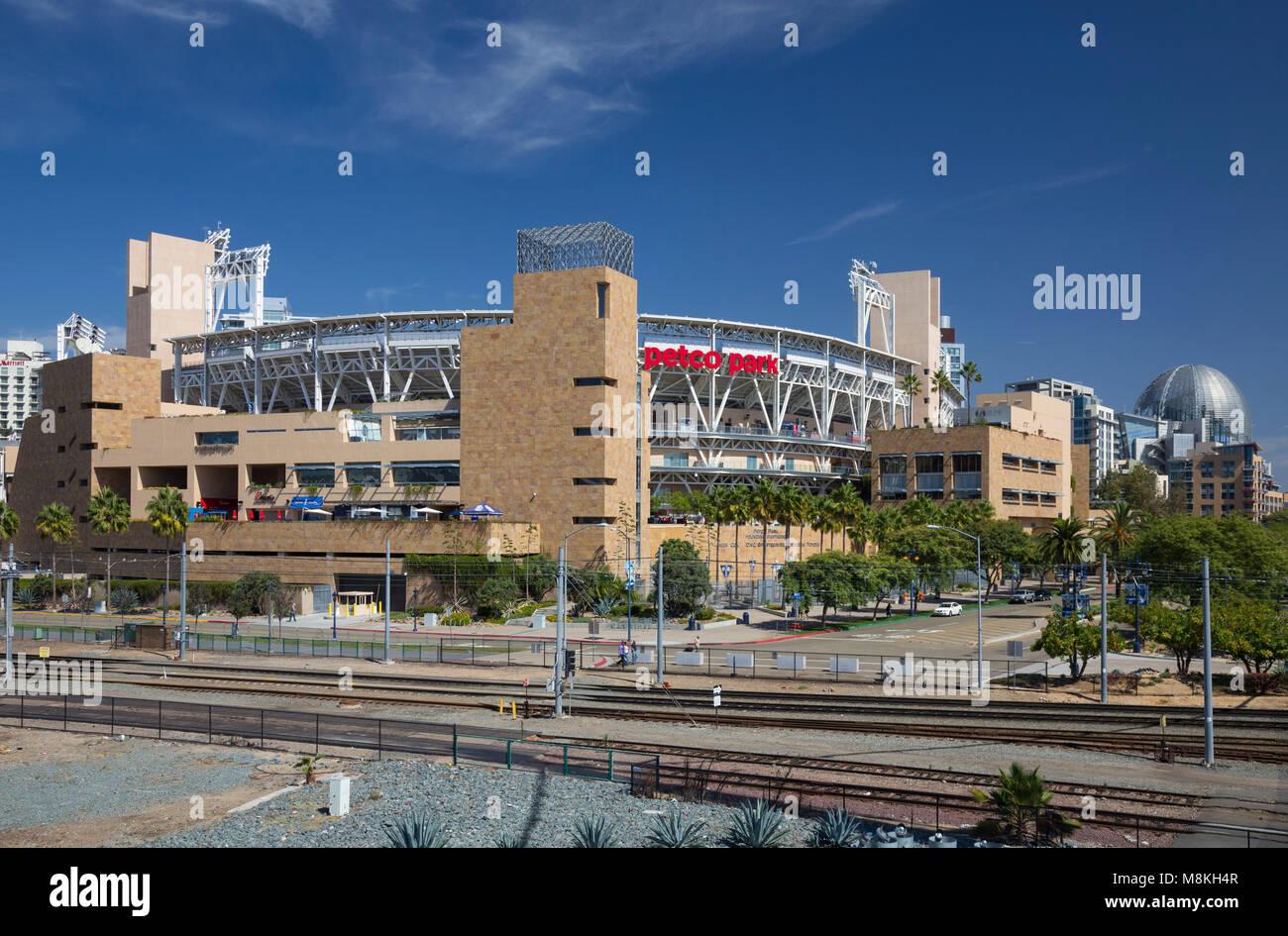 Petco Park, hogar de los San Diego Padres, California, EE.UU. Imagen De Stock