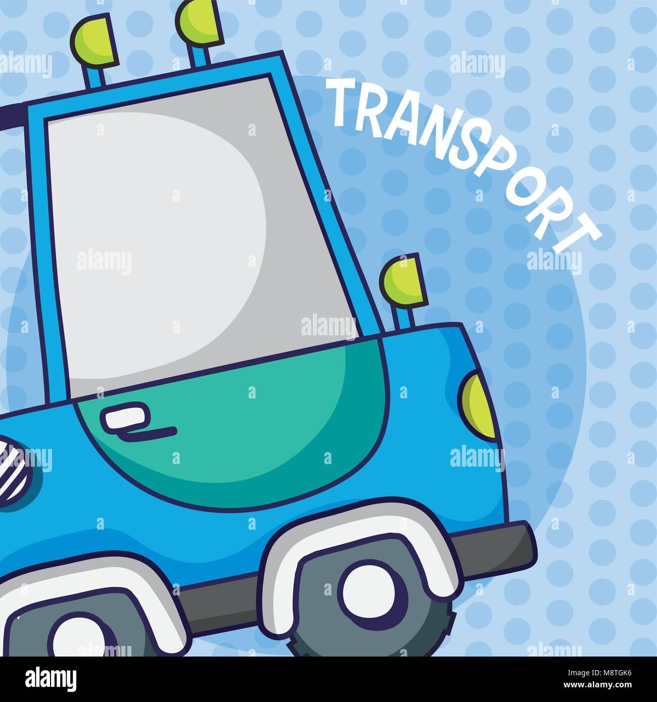 Suv Camioneta 4x4 Sobre Fondo De Colores Imagen Vector De Stock Alamy