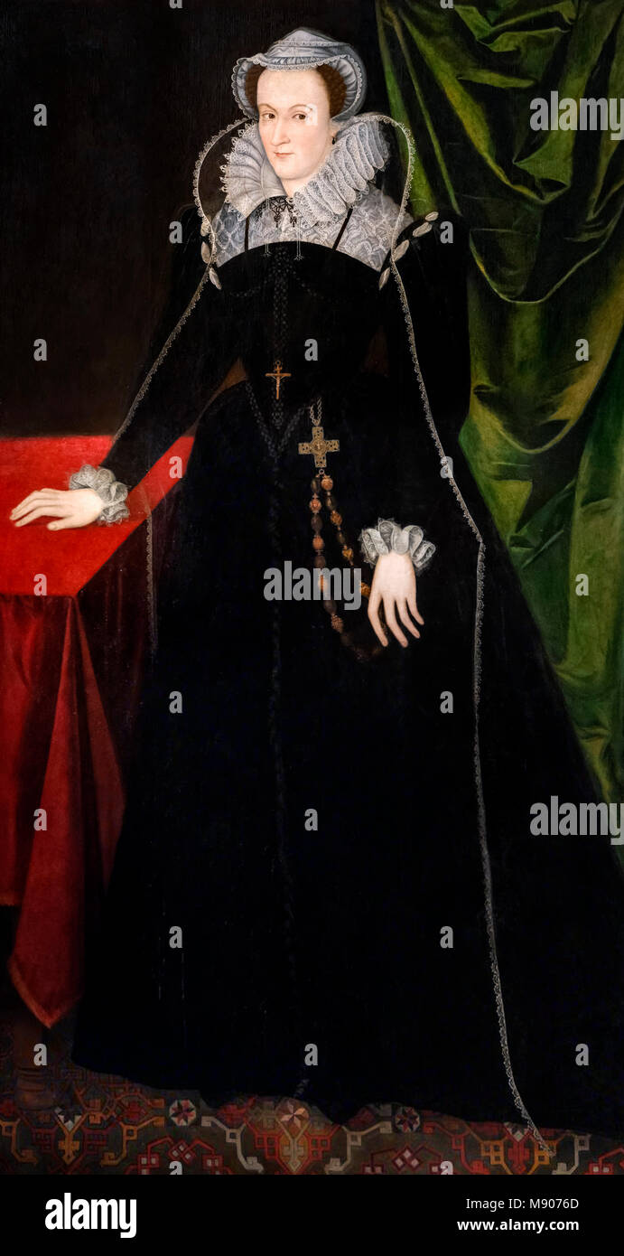 María, Reina de Escocia (1542-1587), c.1578. Imagen De Stock