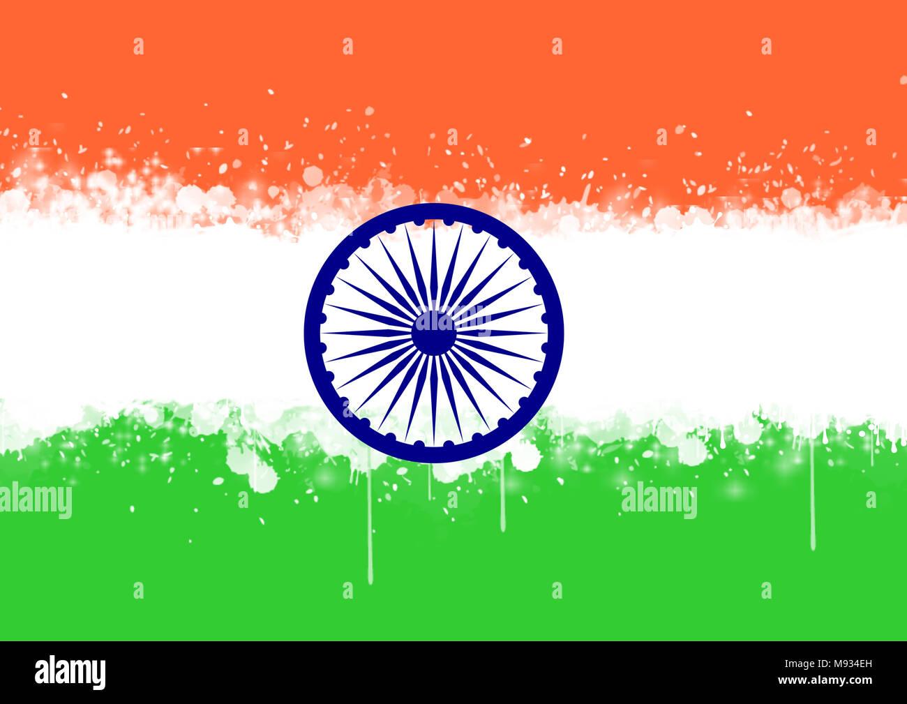 Lujo Bandera De La India Para Colorear Imágenes - Dibujos Para ...