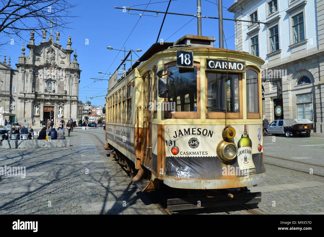 Bonde em Porto Imagen De Stock