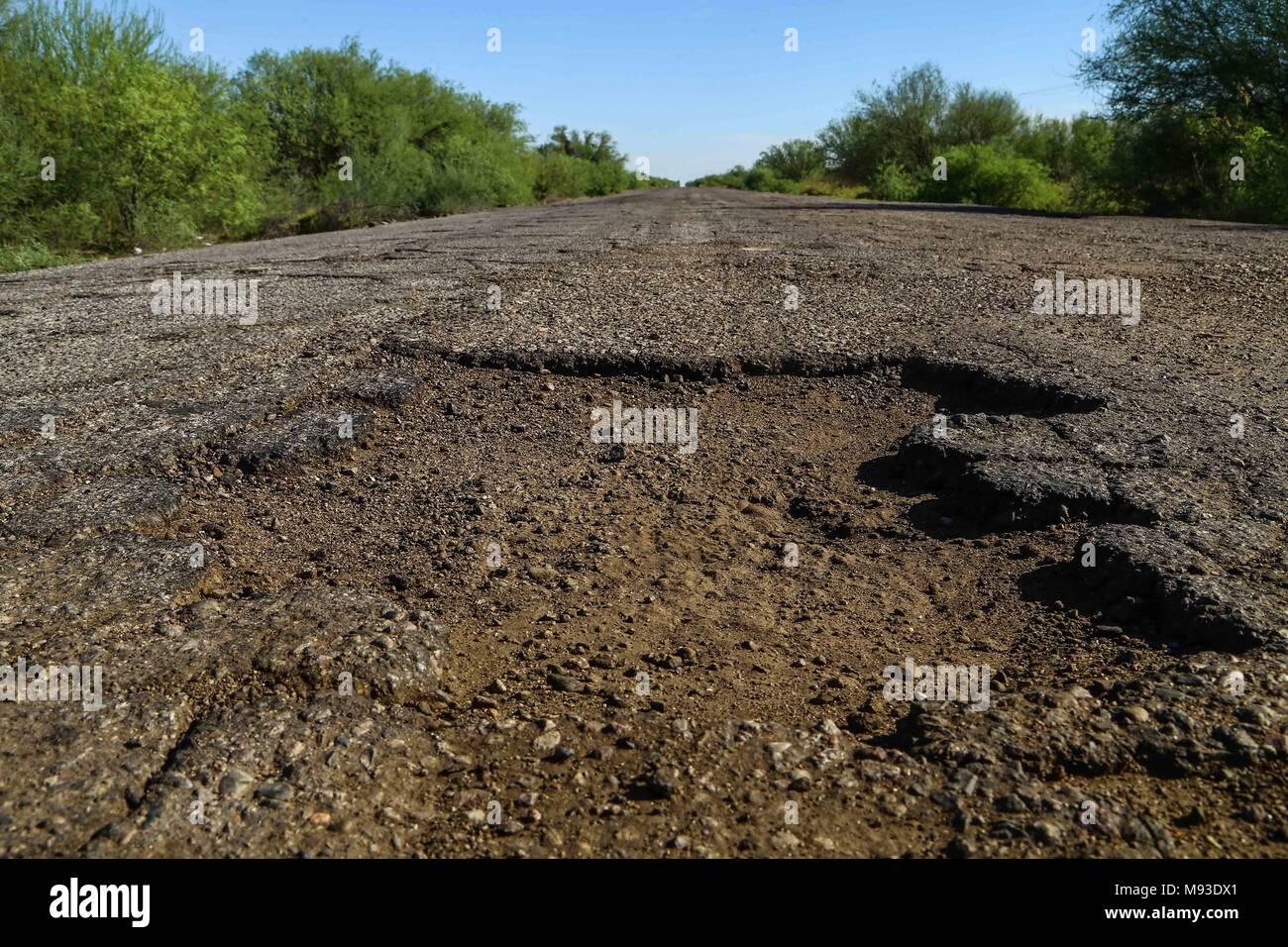 El estero de Tastiota en la costa de Sonora / Golfo de California. Foto:LuisGutierrez/NortePhoto Imagen De Stock