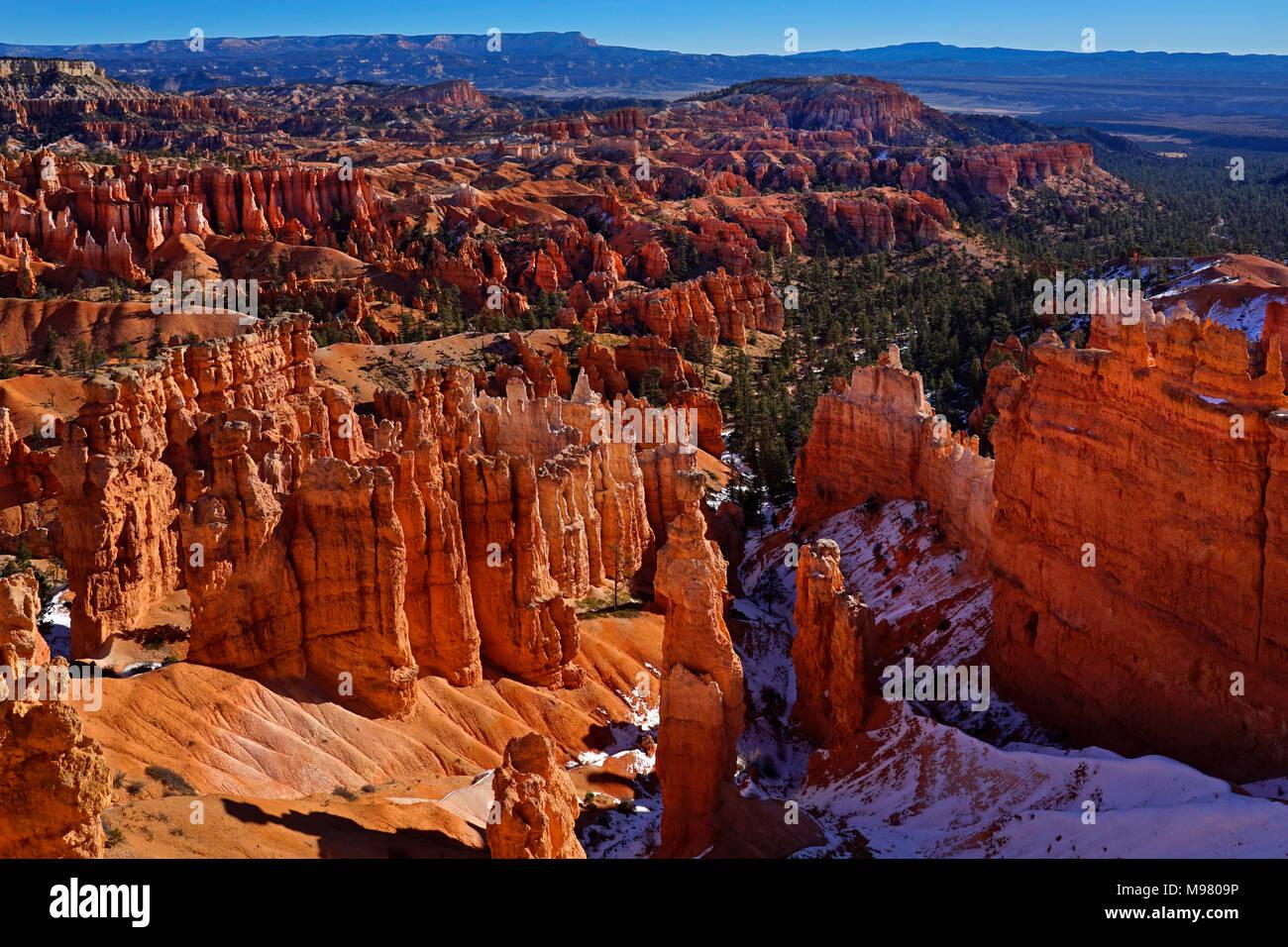 Bryce Canyon National Park, Utah,Latina,ESTADOS UNIDOS Foto de stock