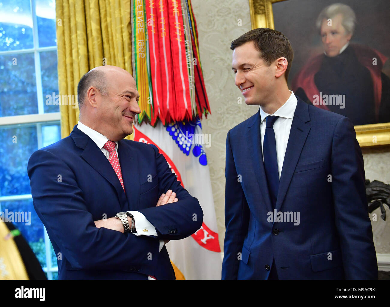 0ee34b18 Washington, Estados Unidos. 20 Mar, 2018. Salida principal asesor económico  de la Casa Blanca, Gary Cohn ...