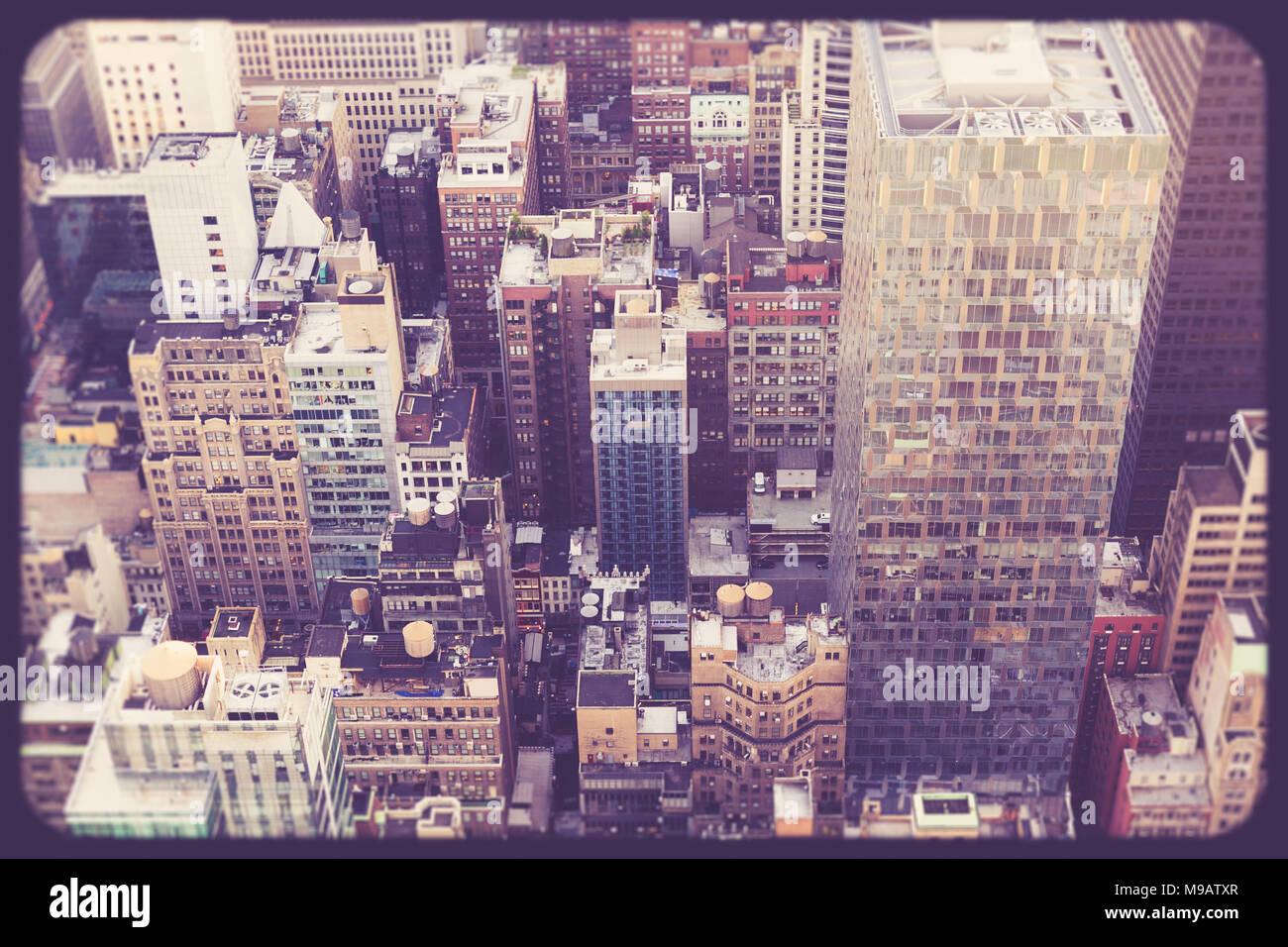 Vintage New York City Picture Imágenes De Stock & Vintage New York ...