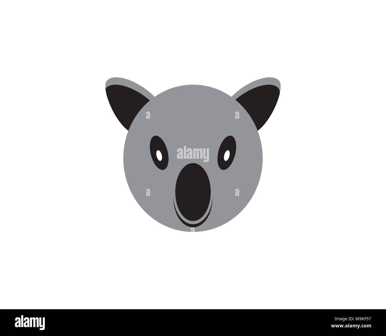 Baby Koala Cartoon Head Imágenes De Stock & Baby Koala Cartoon Head ...