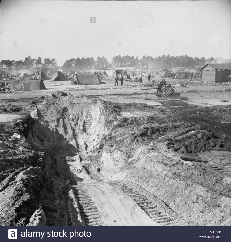 La liberación del campo de concentración de Bergen Belsen, abril de ...