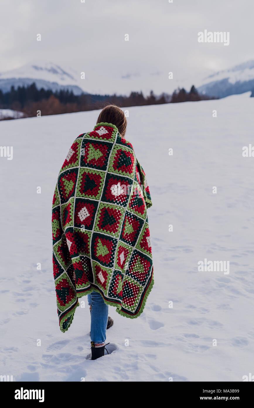 Crochet Blanket Imágenes De Stock & Crochet Blanket Fotos De Stock ...