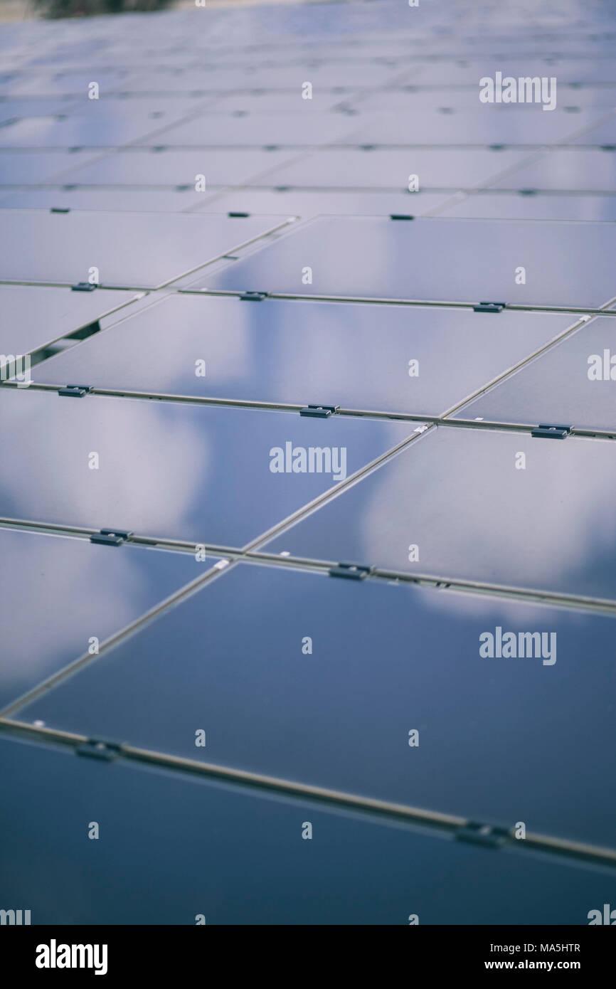 Paneles solares , Imagen De Stock