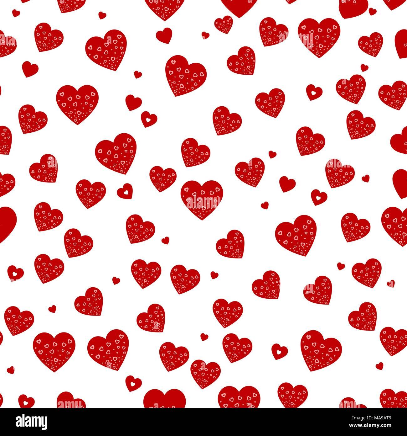 Vector perfecta textura con corazones de oro puede crear for Papel tapiz de patron para el pasillo