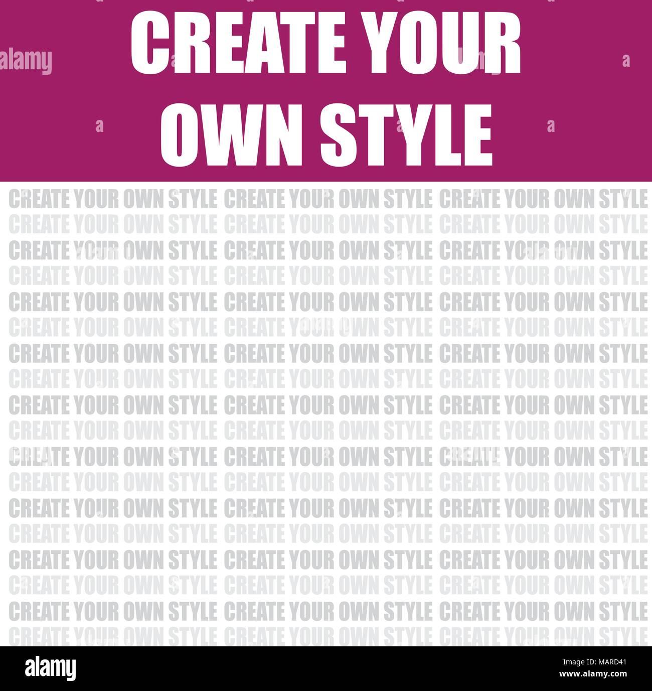 4365247a0 Crea tu propio estilo