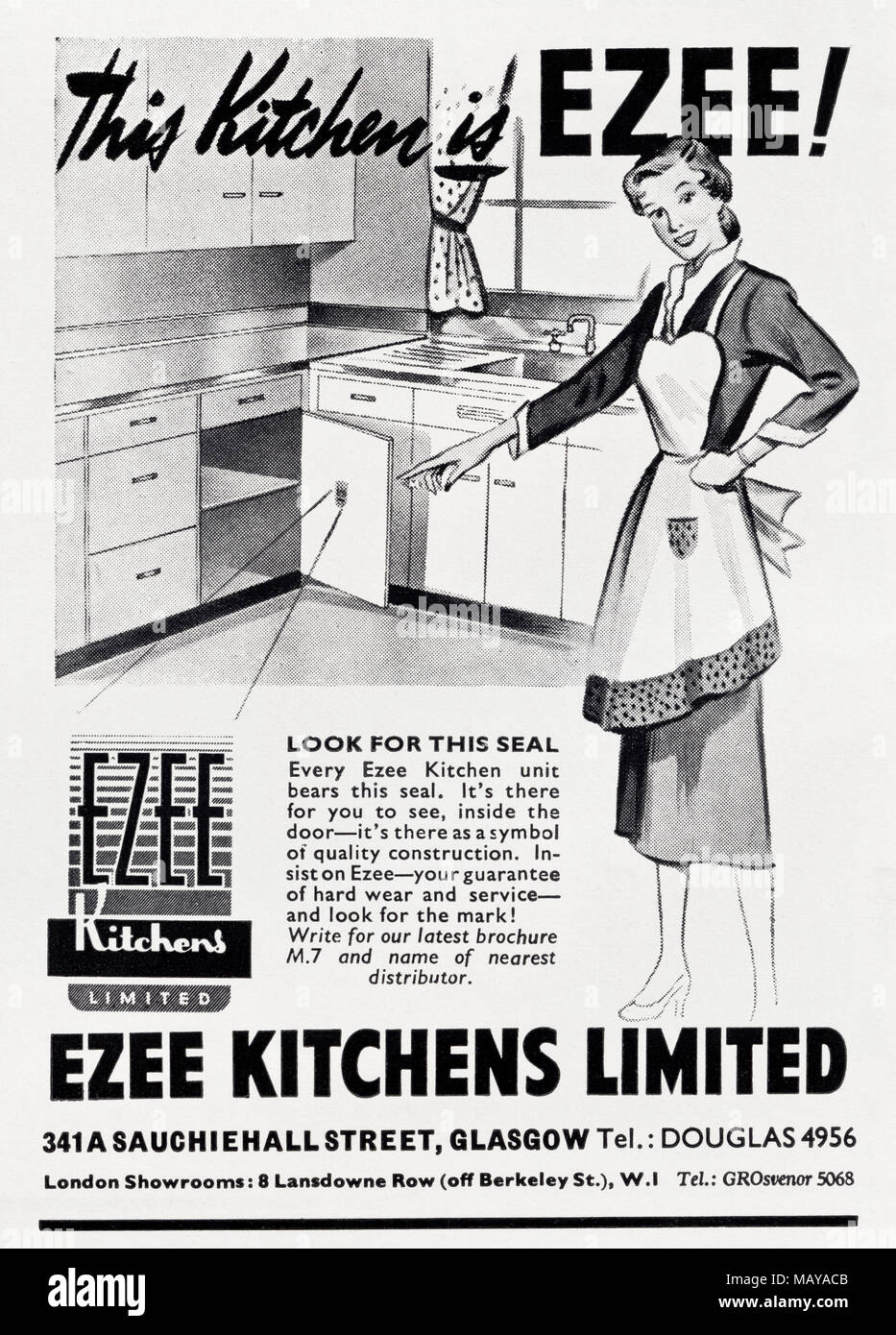 Famoso 1950 Cocinas Reino Unido Modelo - Ideas de Decoración de ...