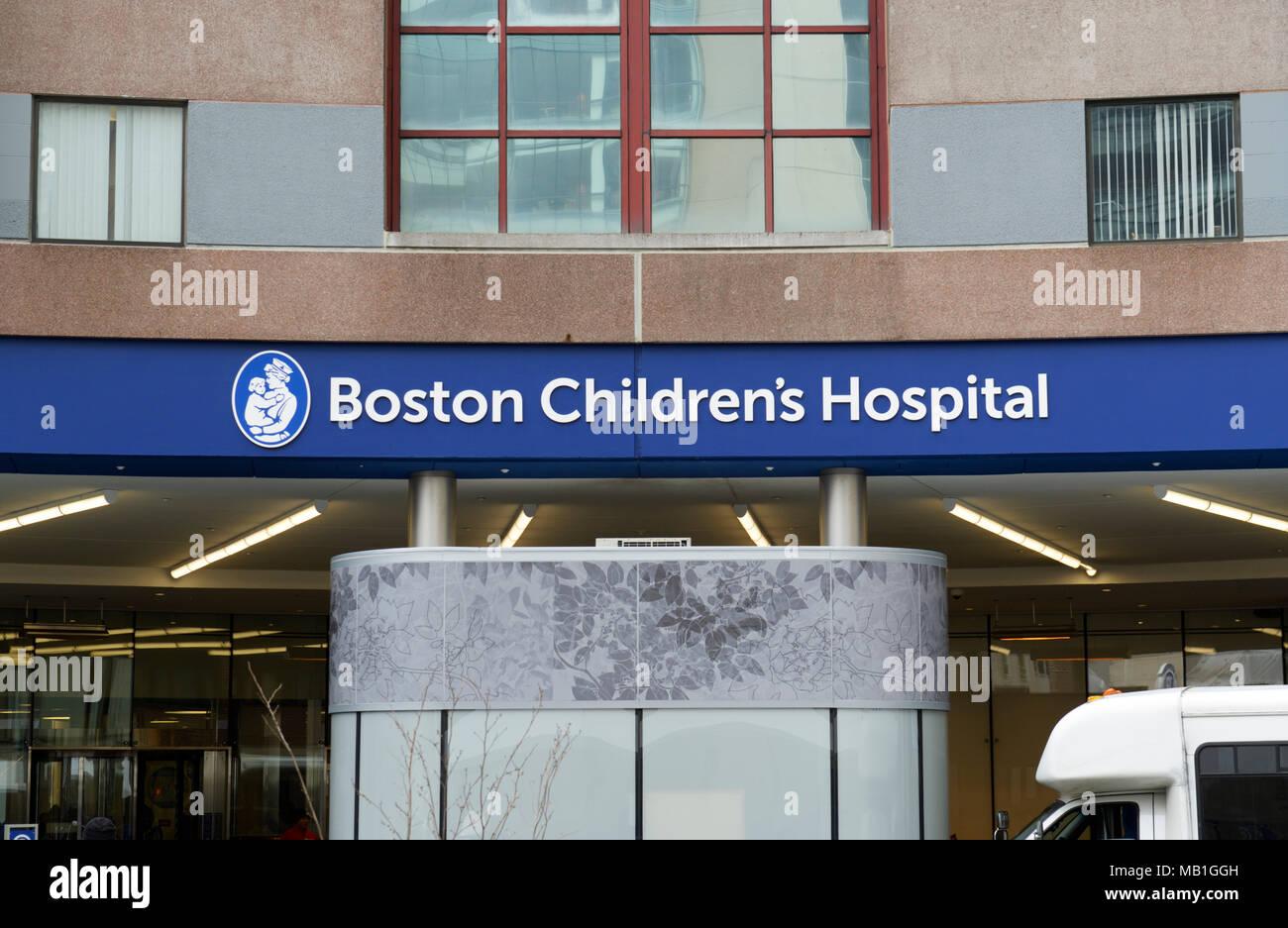 Children's Hospital Boston Imagen De Stock