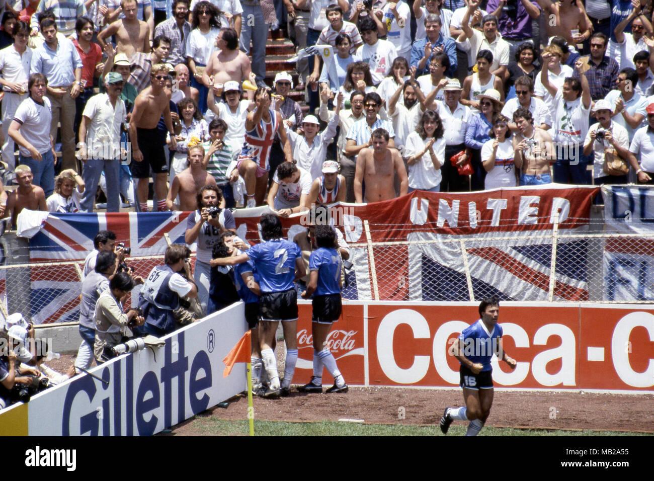 Copa Mundial De La Fifa Mexico 1986 22 6 1986 Estadio Azteca Mexico D F Los Cuartos De