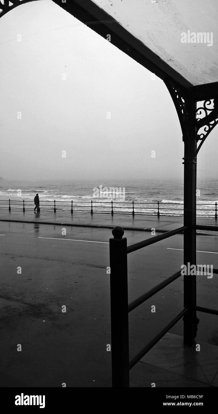 North Bay, Scarborough Foto de stock