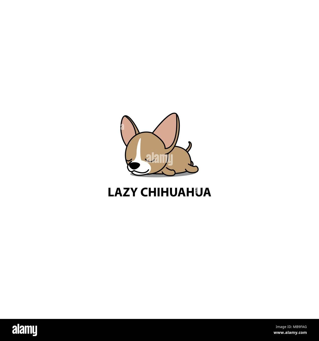 Cartoon Cute Chihuahua Dog Icon Imágenes De Stock Cartoon Cute