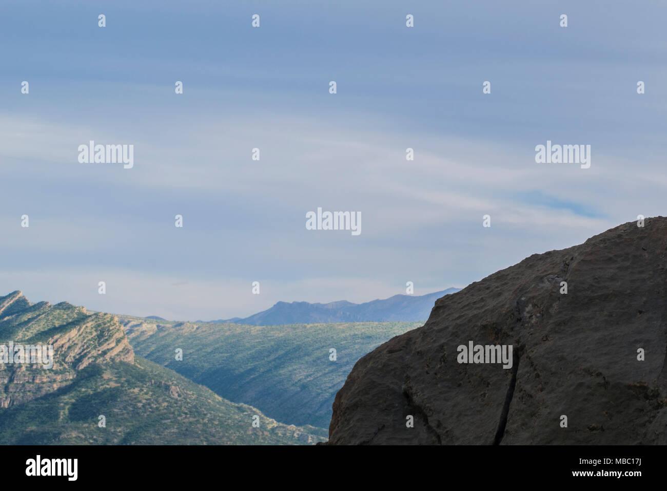 Piedras duras de montaña de Zagros Foto de stock