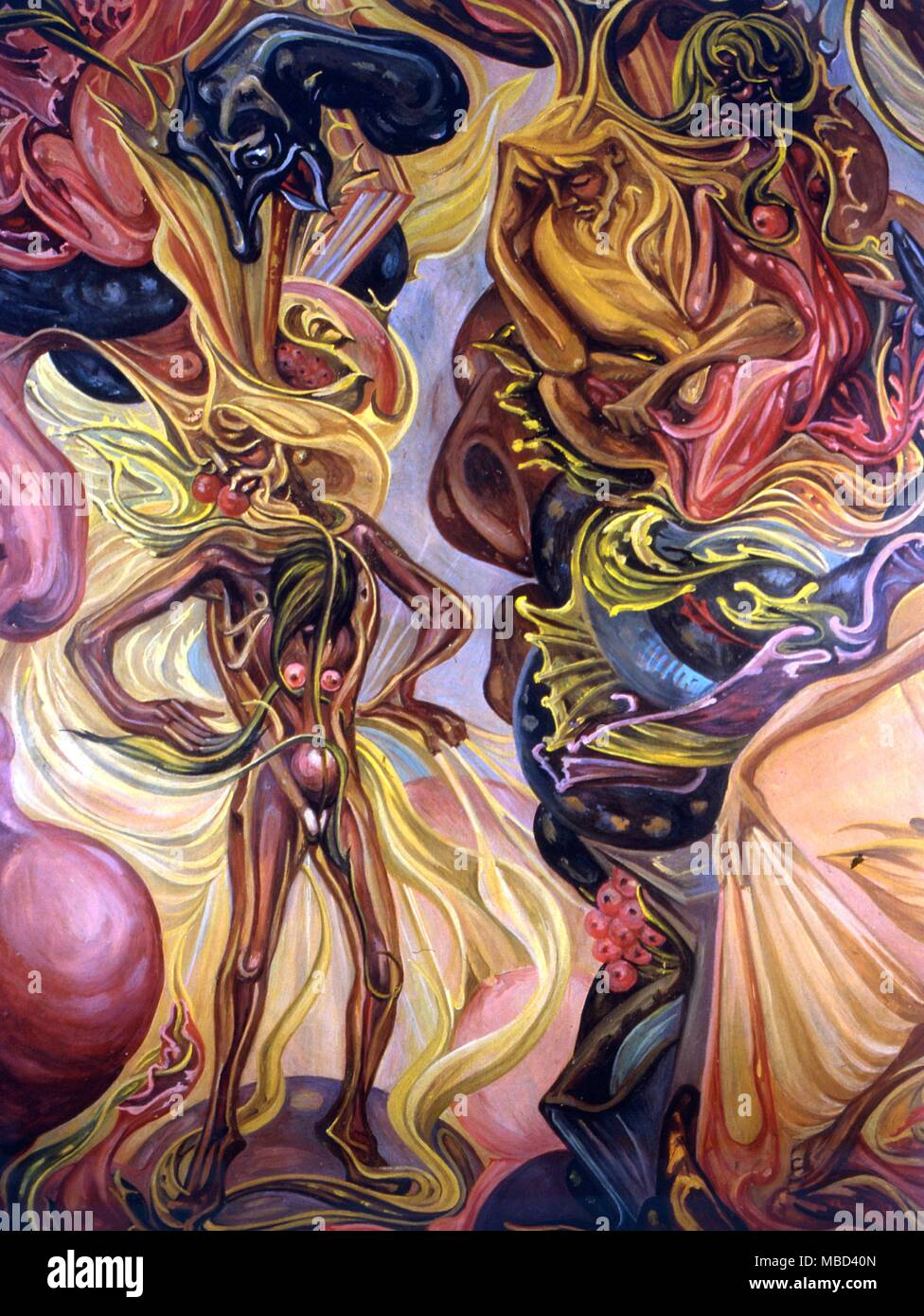 El esoterismo judío Cabbala Arte ocultista esfera de