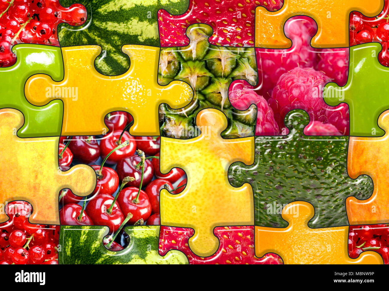 Fruits Collage Imágenes De Stock & Fruits Collage Fotos De Stock - Alamy