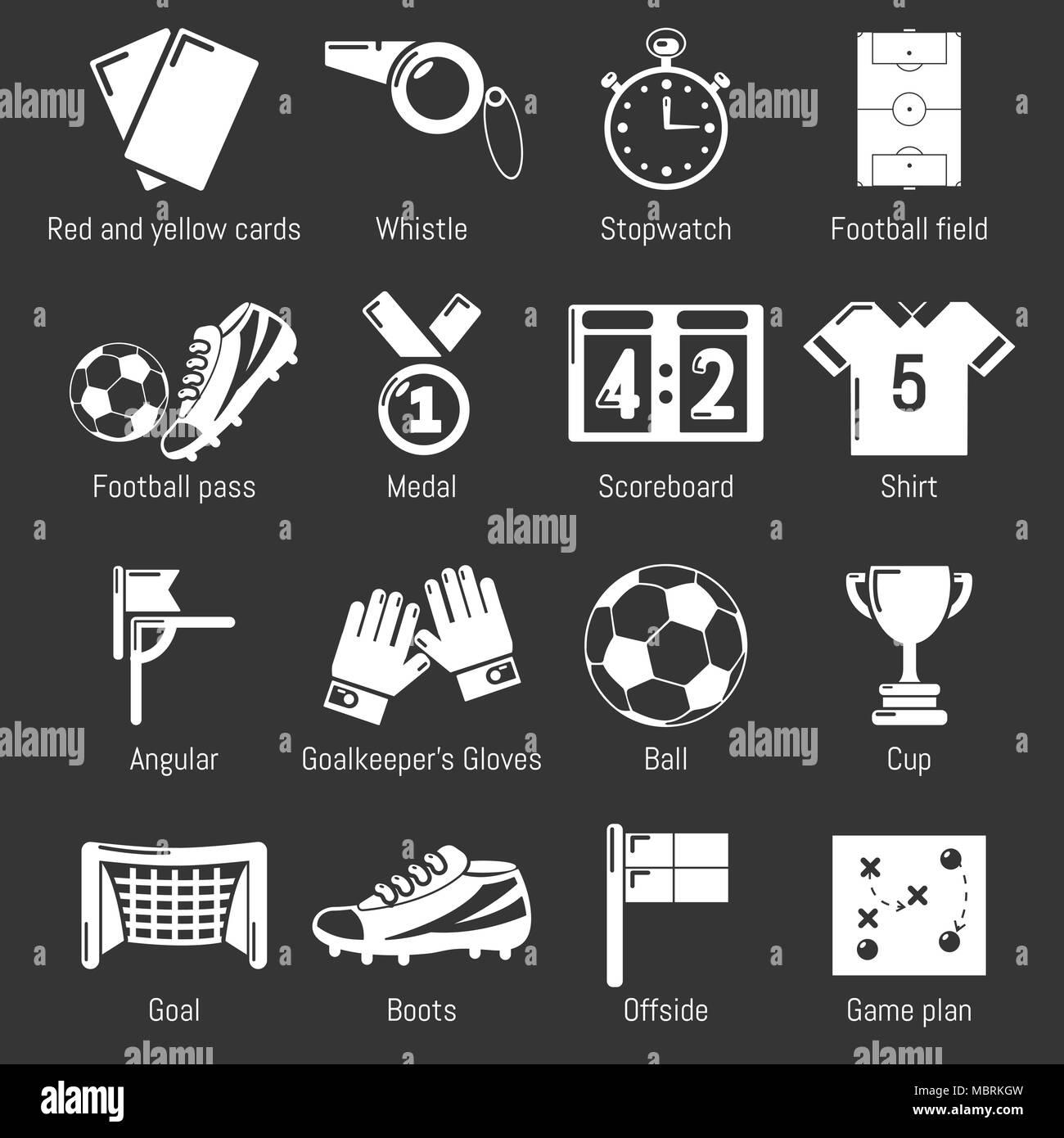 Football Field Vector Illustration Imágenes De Stock   Football ... 034ff8c93da