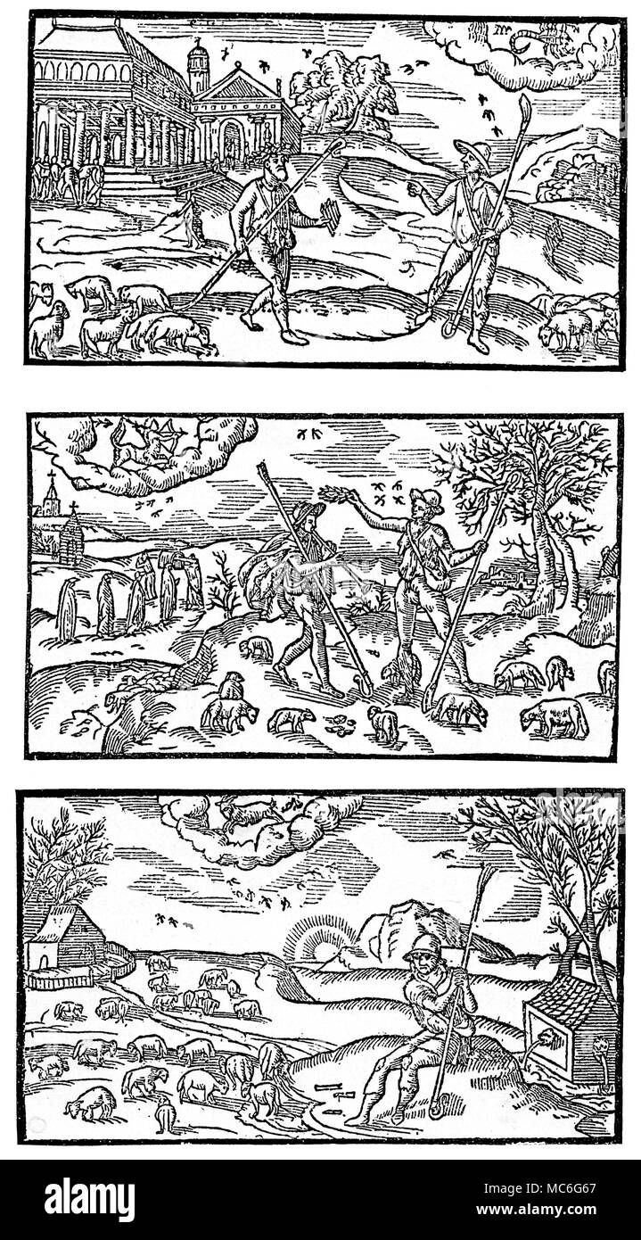 Calendario Zodiacal.Meses Calendarios Octubre Noviembre Diciembre Del Siglo Xvi