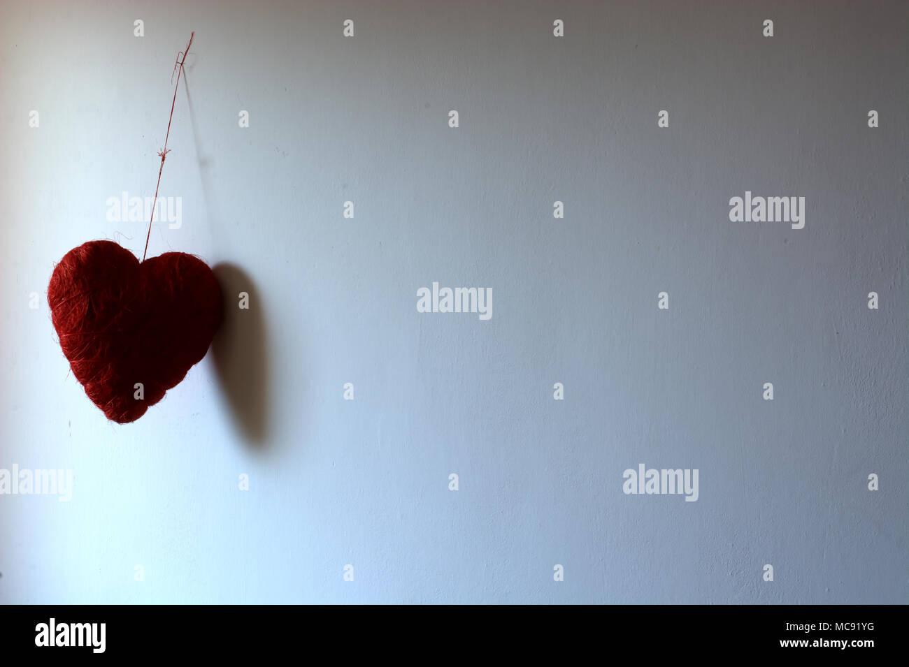 Un Hermoso Color Rojo Un Corazón Unas Rosas Para Todo Mi