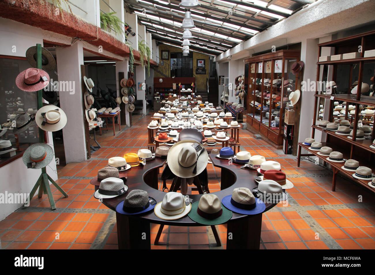 Barranco Museo del Sombrero Panama Hat.Museo en Cuenca Ecuador Imagen De  Stock 22600850968