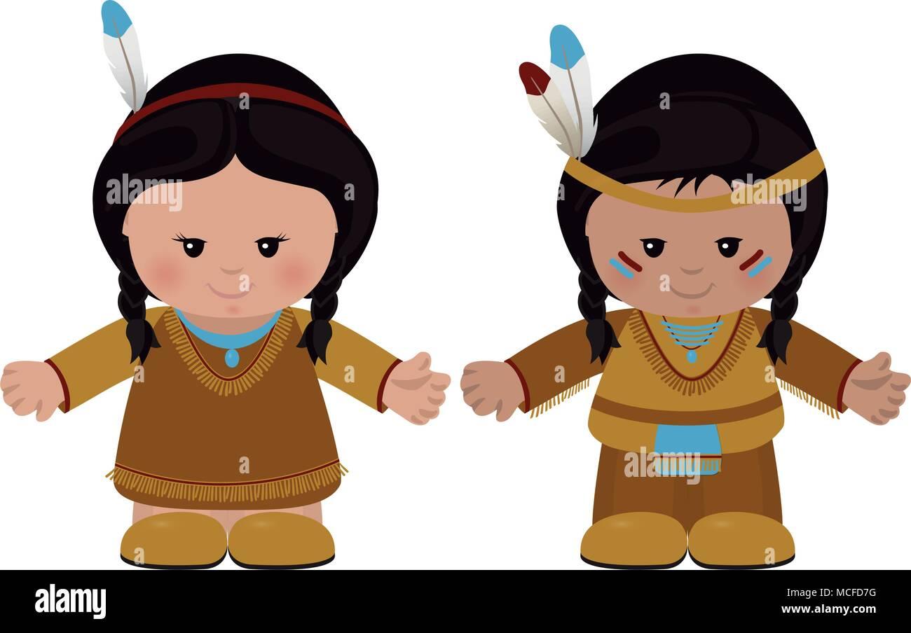 Native Indian Art Vector Imágenes De Stock Native Indian Art